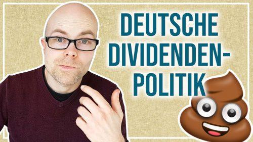 Dividenden-Kürzungen in Deutschland machen mich ärgerlich