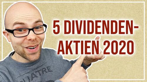 Dividenden-Aktien: 5 Ideen für 2020