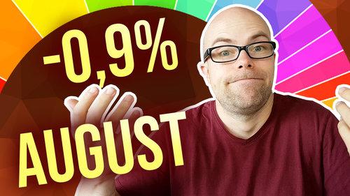 -0,9% - Portfolio-Update August 2019