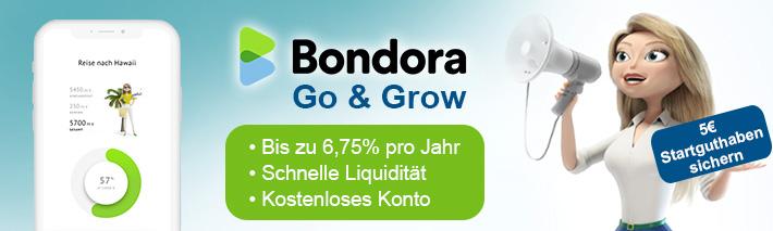 Go & Grow - Das neue Investment-Tool von Bondora vorgestellt