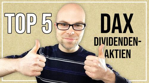 Meine Top 5 Dividenden-Aktien im DAX für Februar 2020