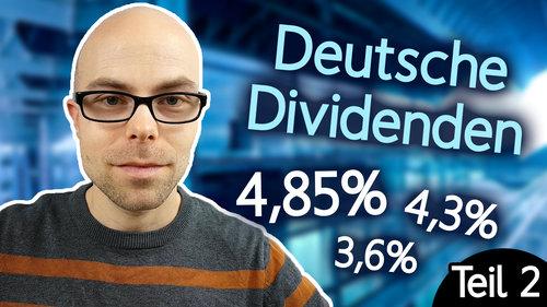 5 deutsche Aktien mit hoher Dividende (Teil 2)