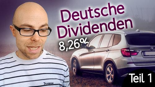 5 deutsche Dividenden-Aktien mit hoher Ausschüttung (Teil 1)