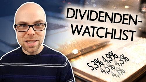 Diese 5 Dividenden-Aktien haben Investoren gerade auf ihrer Watchlist
