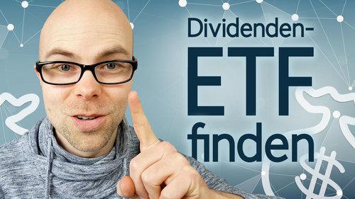 Den EINEN Dividenden-ETF finden – so gehts!