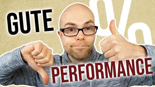 Was ist eine gute Portfolio-Performance?