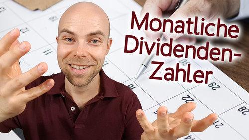 Aktien mit monatlicher Dividende finden