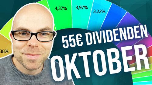 55€ Dividenden – Portfolio-Update Oktober 2019