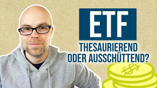 Thesaurierende oder ausschüttende ETFs? | Ausschüttungsquote bei REITs - Q&A