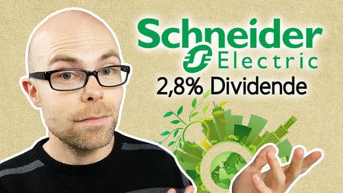 Schneider Electric: 2,8% nachhaltige Dividendenrendite
