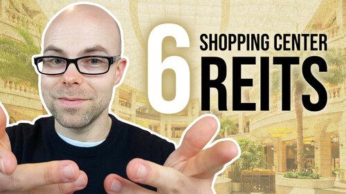 6 Shopping Center REITs mit mehr als 3% Dividende