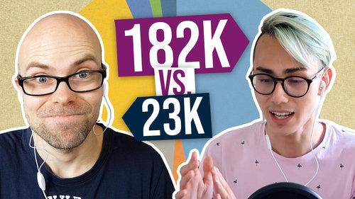 182k vs. 23k Asset Allocation Mindset