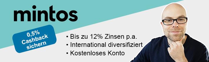 Mintos Invest & Access – die Verteilung der P2P-Kredite nach einem Monat